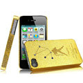 IMAK Aquarius Constellation Color Covers Hard Cases for iPhone 4G\4S - Golden