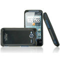 IMAK Armor Knight Color Covers Hard Cases for HTC EVO Shift 4G A7373 - Black (High transparent screen protector)