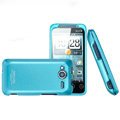 IMAK Armor Knight Color Covers Hard Cases for HTC EVO Shift 4G A7373 - Blue (High transparent screen protector)