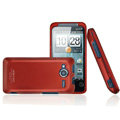 IMAK Armor Knight Color Covers Hard Cases for HTC EVO Shift 4G A7373 - Red (High transparent screen protector)
