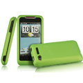 IMAK Armor Knight Color Covers Hard Cases for HTC Lexicon S610D - Green (High transparent screen protector)
