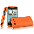 IMAK Armor Knight Color Covers Hard Cases for HTC Lexicon S610D - Orange (High transparent screen protector)