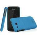 IMAK Cowboy Shell Quicksand Hard Cases Covers for Hisense EG906 - Blue (High transparent screen protector)