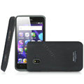 IMAK Cowboy Shell Quicksand Hard Cases Covers for TCL C995 - Black (High transparent screen protector)