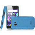 IMAK Cowboy Shell Quicksand Hard Cases Covers for TCL C995 - Blue (High transparent screen protector)