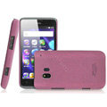 IMAK Cowboy Shell Quicksand Hard Cases Covers for TCL C995 - Purple (High transparent screen protector)