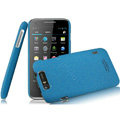 IMAK Cowboy Shell Quicksand Hard Cases Covers for TCL S800 - Blue (High transparent screen protector)