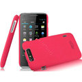 IMAK Cowboy Shell Quicksand Hard Cases Covers for TCL S800 - Rose (High transparent screen protector)
