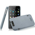 IMAK Cowboy Shell Quicksand Hard Cases Covers for TCL S900 - Gray (High transparent screen protector)