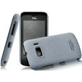 IMAK Cowboy Shell Quicksand Hard Cases Covers for TCL W939 - Gray (High transparent screen protector)