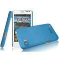 IMAK Cowboy Shell Quicksand Hard Cases Covers for ThL V11 - Blue (High transparent screen protector)