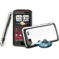 IMAK Mirror Series Covers Hard Cases for HTC Z715e Sensation XE G18 - Specular Color (High transparent screen protector)