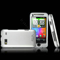 IMAK Titanium Armor Knight Color Covers Hard Cases for HTC Desire Z T-Mobile G2 - Silver (High transparent screen protector)