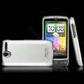 IMAK Titanium Color Covers Hard Cases for HTC A8188 Desire G7 - Silver (High transparent screen protector)
