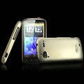 IMAK Titanium Color Covers Hard Cases for HTC Pyramid Sensation 4G G14 Z710e - Gold (High transparent screen protector)