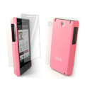 IMAK Ultrathin Color Covers Hard Cases for HTC Touch Diamond2 T5353 - Pink (High transparent screen protector)
