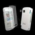 IMAK Ultrathin Color Covers Hard Cases for Nokia 5230 - White (High transparent screen protector)