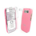 IMAK Ultrathin Color Covers Hard Cases for Nokia E71 - Pink (High transparent screen protector)