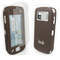 IMAK Ultrathin Color Covers Hard Cases for Nokia N97 - Brown (High transparent screen protector)