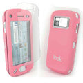 IMAK Ultrathin Color Covers Hard Cases for Nokia N97 - Pink (High transparent screen protector)