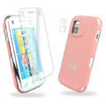 IMAK Ultrathin Color Covers Hard Cases for Nokia N97 mini - Pink (High transparent screen protector)