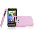 IMAK Ultrathin Matte Color Covers Hard Back Cases for HTC A8188 Desire G7 - Pink (High transparent screen protector)