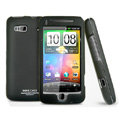IMAK Ultrathin Matte Color Covers Hard Back Cases for HTC Desire Z T-Mobile G2 - Black (High transparent screen protector)