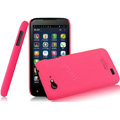 IMAK Ultrathin Matte Color Covers Hard Cases for Amoi N820 - Rose (High transparent screen protector)