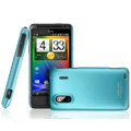 IMAK Ultrathin Matte Color Covers Hard Cases for HTC EVO Design 4G Hero S Kingdom - Blue (High transparent screen protector)