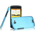 IMAK Ultrathin Matte Color Covers Hard Cases for HTC One S Ville Z520E - Blue (High transparent screen protector)