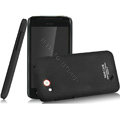 IMAK Ultrathin Matte Color Covers Hard Cases for HTC T328d Desire VC - Black (High transparent screen protector)