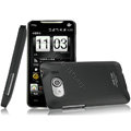 IMAK Ultrathin Matte Color Covers Hard Cases for HTC T9199 - Black (High transparent screen protector)