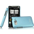 IMAK Ultrathin Matte Color Covers Hard Cases for HTC T9199 - Blue (High transparent screen protector)