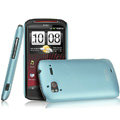 IMAK Ultrathin Matte Color Covers Hard Cases for HTC Z715e Sensation XE G18 - Blue (High transparent screen protector)