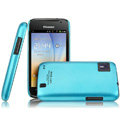 IMAK Ultrathin Matte Color Covers Hard Cases for Hisense HS-U8 - Blue (High transparent screen protector)