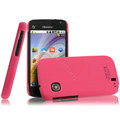IMAK Ultrathin Matte Color Covers Hard Cases for Hisense T92 - Rose (High transparent screen protector)