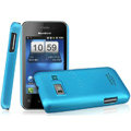 IMAK Ultrathin Matte Color Covers Hard Cases for Koobee N60 - Blue (High transparent screen protector)