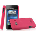 IMAK Ultrathin Matte Color Covers Hard Cases for Koobee N60 - Rose (High transparent screen protector)