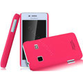 IMAK Ultrathin Matte Color Covers Hard Cases for Koobee N62 - Rose (High transparent screen protector)