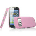 IMAK Ultrathin Matte Color Covers Hard Cases for Nokia C7 - Pink (High transparent screen protector)