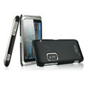 IMAK Ultrathin Matte Color Covers Hard Cases for Nokia E7 - Black (High transparent screen protector)