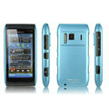 IMAK Ultrathin Matte Color Covers Hard Cases for Nokia N8 - Blue (High transparent screen protector)