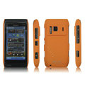 IMAK Ultrathin Matte Color Covers Hard Cases for Nokia N8 - Orange (High transparent screen protector)