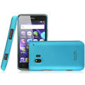 IMAK Ultrathin Matte Color Covers Hard Cases for TCL C995 - Blue (High transparent screen protector)