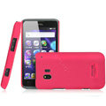 IMAK Ultrathin Matte Color Covers Hard Cases for TCL C995 - Rose (High transparent screen protector)