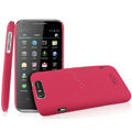IMAK Ultrathin Matte Color Covers Hard Cases for TCL S900 - Rose (High transparent screen protector)