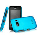 IMAK Ultrathin Matte Color Covers Hard Cases for TCL W939 - Blue (High transparent screen protector)