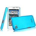 IMAK Ultrathin Matte Color Covers Hard Cases for ThL V11 - Blue (High transparent screen protector)