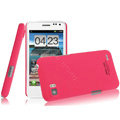 IMAK Ultrathin Matte Color Covers Hard Cases for ThL V11 - Rose (High transparent screen protector)