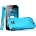 IMAK Ultrathin Matte Color Covers Hard Cases for ThL W2 - Blue (High transparent screen protector)